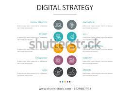 Strategy Presentation Digital Strategy Presentation Template Cover Layout Stock