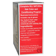 Light Mountain Natural Hair Color And Conditioner Auburn 4 Oz