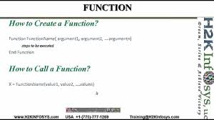 Qtp How To Write Vb Functions Vb Script Qtp Automation Testing
