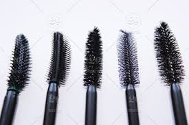 stock photo white background texture beauty cosmetics eyelashes maa
