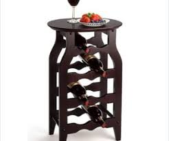 wine bottle storage furniture. The Winsome 8 Bottle Oval Top Wine Rack Storage Furniture