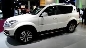 2018 ssang yong rexton luxe bva exterior and interior walkaround 2012 paris auto show you