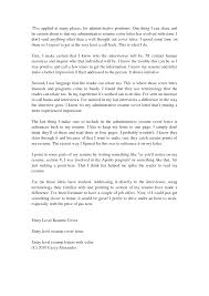 executive assistant cover letters entry level legal administrative assistant cover letter