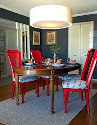painted kitchen chairs painted chair ideas ideas spray paint and reupholster your dining room chairs eclectic