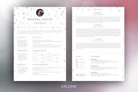 Cv Temp Resume Templates Design Resume Cv Template Rachel