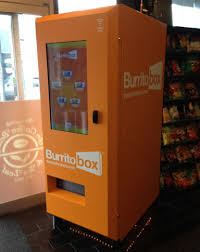 Burrito Vending Machine Adorable Burritos Now Come Steaming Hot From A Vending Machine WTOP