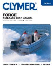 force outboard marine manuals diy repair manuals clymer force outboard marine manuals
