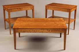 cherry coffee table. Doucette And Wolfe Fine Furniture Makers Custom End Table Cherry Coffee Tables Sale Img