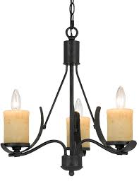morelis blacksmith iron chandelier glass shades 3 lights 18 wx18 h