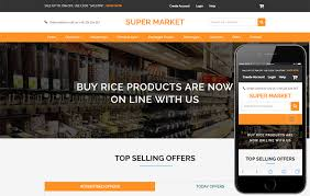 Website Templates Unique Super Market An Ecommerce Online Shopping Flat Bootstrap Responsive