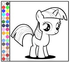 Small Picture My Little Pony Coloring Pages Games My Daring Do Little Pony