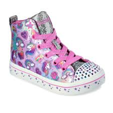 Skechers Light Up Children S Shoes Skechers Twinkle Toes Shuffles Twi Lites Girls Light Up