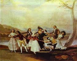 blind man s bluff francisco de goya oil painting reions and prints