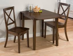Kitchen Table 2 Chairs Small Dining Table For 2 Smashing Stone Tiles Ideas Drop Leaf