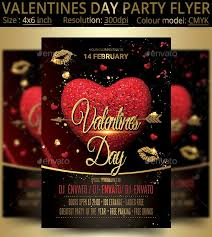 Valentines Flyers 45 Premium Free Psd Flyers Elements For St Valentines