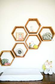 honeycomb wall decor how to make honeycomb wall decor shelf out