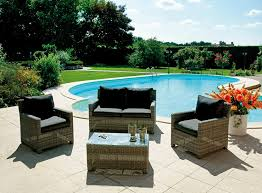 outdoor furniture patio. Outdoor Lounge Suite In Rattan Furniture Patio