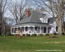 wrap around porches country porch