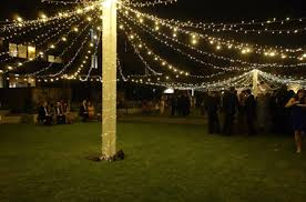 Large fairy light marquee canopy