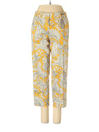 J Crew Denim Size Chart Details About Nwt J Crew Factory Store Women Yellow Dress Pants 2 Petite