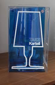 Nuova Lampada Kartell Take Da Tavolo Color Bl