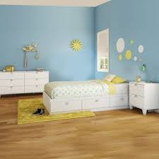 3 Piece Bedroom Set - Summer Breeze Twin Mates Bed, 5 Drawer Chest ...