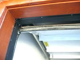 garage door strip genie gear stripped bottom weatherstripping home depot opener drive
