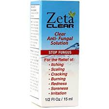ZetaClear yellow Toenail fungus treatment over the counter cure