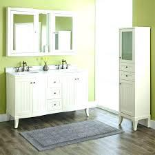 corner double sink vanity bathroom um size of sets modern dimensions