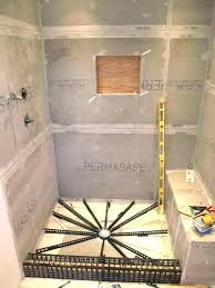 build your own shower door how to build a shower how to build shower pan building