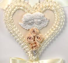 hanging hearts decoration tara brown