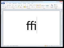 How To Get Word 2010 For Free How To Enable Opentype Ligatures In Word 2010