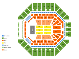 The Tobin Center Seating Chart Stone Temple Pilots Tickets At At T Center On September 22 2018 At 12 00 Pm