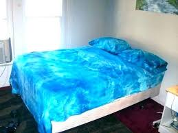 blue tie dye bedding rainbow comforter set full size of large m bed twin and white
