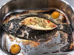 crab and cornbread stuffed flounder