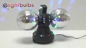 Disco Lights Kmart Twin Disco Mirror Ball Lamp With Built In Led Lights
