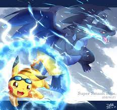 Volt Tackle V.S Mega by https://www.deviantart.com/ffxazq on @DeviantArt |  Pokemon, Pikachu, Pokemon art