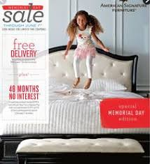 American Signature Furniture Weekly Ad Specials