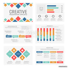Vector Template For Multipurpose Presentation Slides With