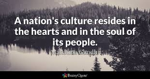 Quotes About Culture Custom Culture Quotes BrainyQuote