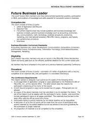 Business Administration Resume Objective Nguonhangthoitrang Net