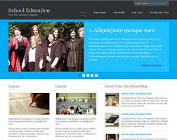Templates For Education School Education Website Template Free Website Templates