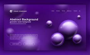 Purple Background Designs Purple Background For Your Website Designs Vector Premium