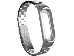 <b>Aксессуар Ремешок Apres для</b> Xiaomi Mi Band 3 Metal Strap Silver ...