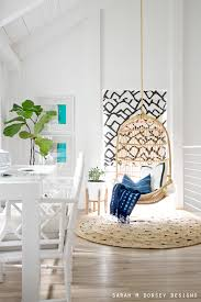 david surprised me a few es ago with my favorite serena and lily hanging chair and today i m sharing my new serena and lily round jute rug