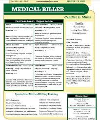 Billing And Coding Resume Medical Coding Resume Samples Billing And