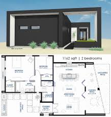modern home plans luxury small front courtyard house plan