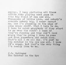 Catcher In The Rye Quotes Stunning Quotes About Catcher In The Rye 48 Quotes