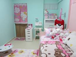 kids bedroom for girls hello kitty. Incredible Cute Small Bedroom Inspiration For Girl Kids Room Decorating With Hello Kitty Theme Furniture Sets Girls I