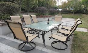 Innovative fortable Outdoor Chairs with Aluminum Sling Patio